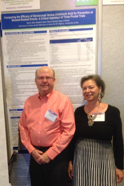 Mike Stuart MD & Sheri Strite at ISPOR Poster Session